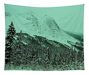 Early Snow In The Mountains  Tapestry