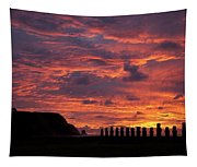 Easter Island Tapestry