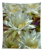 Easter Lily Cactus Bouquet Hdr Tapestry