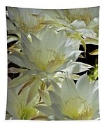 Easter Lily Cactus Bouquet Tapestry