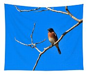 Eastern Bluebird Tapestry