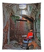 Eastern State Penitentiary Barber Shop Tapestry