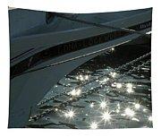 Edna's Bow Lights Tapestry