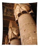 Egypt Temple Of Dendara Tapestry