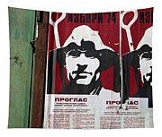 Elections 1974. Belgrade. Serbia Tapestry
