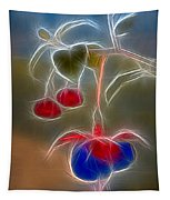 Electrifying Fuchsia Tapestry