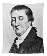 Elias Hasket Derby (1739-1799). American Merchant And Shipowner. Steel Engraving, 19th Century Tapestry