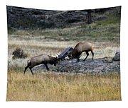 Elks Rutting Tapestry