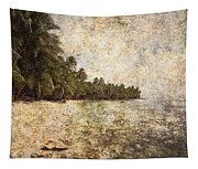 Empty Tropical Beach 2 Tapestry