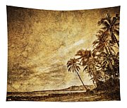 Empty Tropical Beach 3 Tapestry