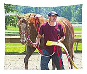 End Of The Race Tapestry