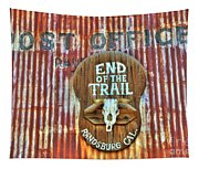 End Of The Trail Tapestry
