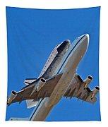 Endeavour's Last Flight Tapestry