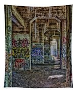Endless Graffiti Tapestry