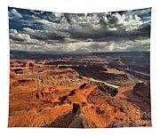 Endless Utah Canyons Tapestry