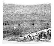 England: Brighton, 1853 Tapestry