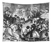 England: Christmas Party Tapestry