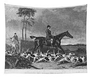 England: Fox Hunt, 1832 Tapestry