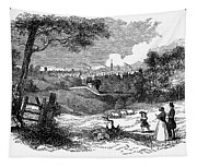 England: Manchester, 1842 Tapestry