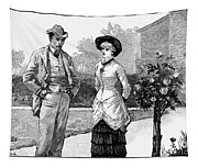 English Couple, 1883 Tapestry