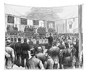 Erie Railway Auction, 1878 Tapestry