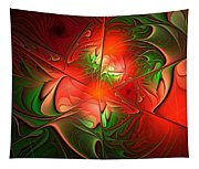 Eruption - Abstract Art Tapestry
