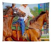 Escort Tapestry