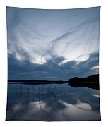 Evening Clouds Over Haukkajarvi Tapestry