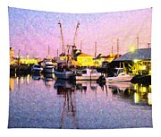 Evening Peace Tapestry