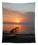 Evening Rest Tapestry