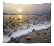 Evening Rush Tapestry