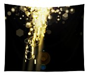Explosion Of Lights Tapestry