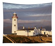 Exterior Of Fanad Lighthouse Fanad Tapestry