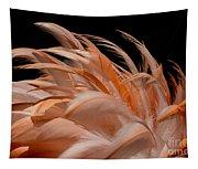 Fabulous Flamingo Feathers Tapestry