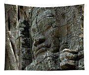 Face Of Stone Tapestry