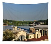 Fairmount Waterworks And Dam Tapestry