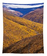 Fall Colours Along Top Of The World Tapestry