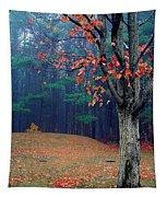 Fall Fog Tapestry
