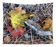 Fall Forest Floor Tapestry