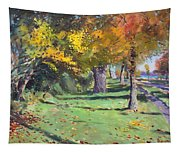 Fall In Goat Island Tapestry