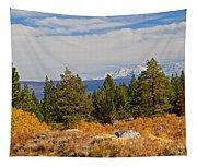 Fall In The Sierra Tapestry