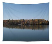 Fall On Beeds Lake Tapestry