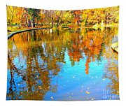Fall Reflections Tapestry