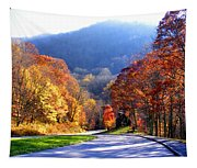Fall Road 2 Tapestry