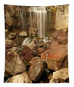 Falling In The Rocks Tapestry