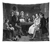 Family Reading, 1840 Tapestry