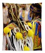 Pow Wow Fancy Dancer Duo Tapestry