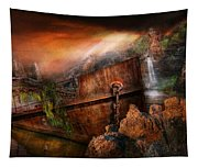 Fantasy - Ship Wrecked Tapestry