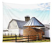 Farm Life Tapestry