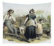 Farm Scene, C1870 Tapestry